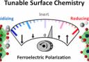 Polarization-driven catalysis via ferroelectric oxide surfaces paper published